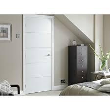 4 panel white interior doors. Internal White Primed HORIZONTAL 4 LINE Moulded Smooth Fire Door FD30 Panel Interior Doors