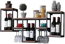 aiden wall mounted wine rack drason