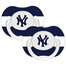 New York Yankees Bedroom New York Yankees Pacifiers Pack Of 2 Free Shipping On Orders