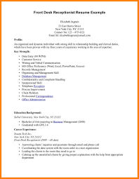 Receptionist Duties Resume 100 Front Desk Receptionist Resume Precis Format 48