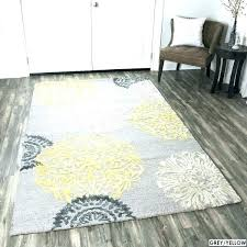 grey and yellow rug target hand tufted fl wool navy 9 x free threshold area logan