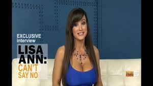 Pornhub TV Hot pornstar Lisa Ann Can t Say No Interview 2017.