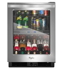 undercounter beverage cooler. Whirlpool® 24-inch Wide Undercounter Beverage Center With Dual-temperature Controlled Zones - 5.8 Cu. Ft. Cooler