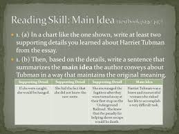 from harriet tubman conductor on the underground railroad ppt  10 reading