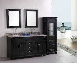 black gloss bathroom cabinet doors - Black Bathroom Vanity Ideas ...