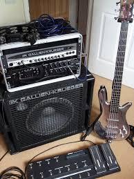 Rob Kitley - Gallien Krueger Bass Amp & Cabinet, Bass Pod XT Pro ...