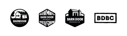outstanding door logo design vector barn concepts decorating styles for living room