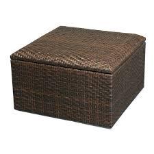patio footstool storage ottoman table sleeper round coffee bed simpli home avalon coffee table storage ottoman