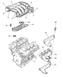 2006 dodge charger manifolds intake exhaust diagram 00i98668