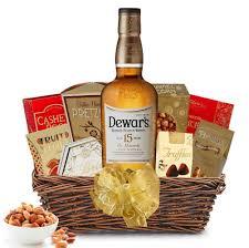 dewar s 15 year old scotch gift basket