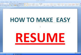 Resume How To Make On Microsoft Word With Maxresdefault Create