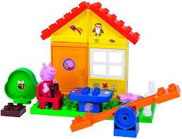 <b>Конструктор</b> Big <b>Peppa</b> Pig 800057073 <b>Летний домик</b> купить ...