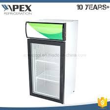 countertop mini fridge fan assisted cooling single door portable mini fridge