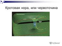 Презентация на тему Современная наука о космосе Выполнили  3 Кротовая нора или червоточина