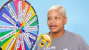 extreme makeup challenge mystery wheel mystery makeup monday