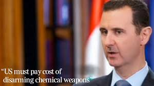 Tony Bonnici. Last updated at 2:29AM, September 19 2013. President Assad of Syria has said that he would hand over his country's stockpile of chemical ... - VIDEO_ASSAD_SYRIA_F_453639a