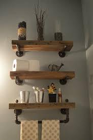 Barnwood Bathroom Reclaimed Barn Wood Bathroom Shelves