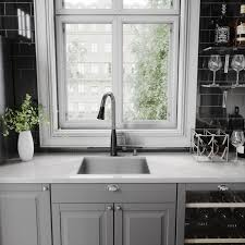 matte black faucet. Perfect Black VIGO Milburn PullDown Spray Kitchen Faucet In Matte BlackStainless Steel For Black