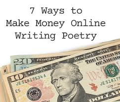 unique ways to make money online writing poetry