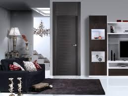 modern painted interior doors. Superb Black Velvet Couch Over Darj Square Rugs As Well White Tiled Floors Ewll Dark Grey Painted Modern Interior Doors In Living Room R