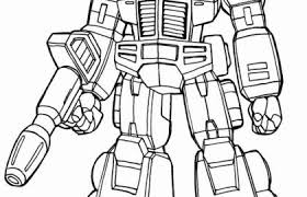 Optimus Prime Coloring Pages And Transformers Rescue Bots Morbot