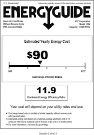 Air Conditioner Efficiency Egee 102 Energy Conservation