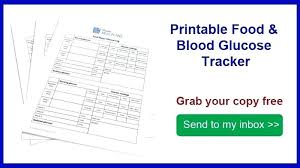 Gestational Diabetes Log Sheet Printable Blood Sugar Tracking Form