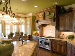 Simple Antique French Country Kitchen Cabinets Idea on Small Home