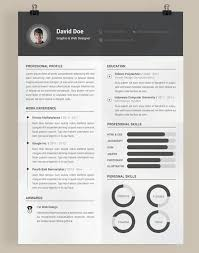 Awesome Resume Templates Interesting Design Resume Template hyperrevcipo