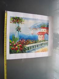 picture of measure the canvas