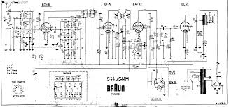 braun s44m the schematic diagram