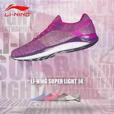 Li Ning Super Light 14 Li Ning Womens Super Light 14 Running Shoes Textile
