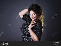 Hair Style For Plus Size young beautiful plus size model image & photo bigstock 6649 by stevesalt.us