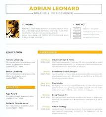 Web Design Resume Template Designer Sample Example Job Cv Samples ...
