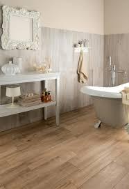 Accessories: Medium Rough Wooden Floor Tiles In Bathroom - Wood ...