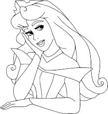 Coloriage Disney Belle Au Bois Dormant Imprimer Sur Coloriages Info