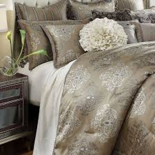 michael amini bedding. Contemporary Michael Michael Amini Solitaire Luxury Bedding Set In Amini I