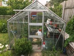 greenhouse 10 x 8 aluminium frame free in saltcoats north ayrshire gumtree