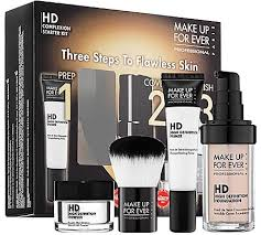make up for ever hd plexion starter kit