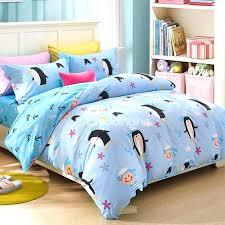childrens duvet covers next bouncy penguin and sailor pattern kids duvet cover set girl duvet covers