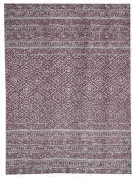 sunny vintage look outdoor area rug pale pink 160x230 cm