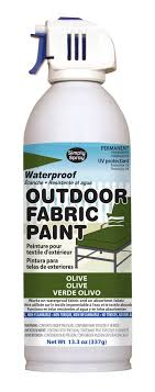 Olive Outdoor Fabric Paint 133 oz cans