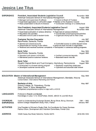 College Graduate Resume Amazing Resume Template College College Graduate Resume Good Resume Tips