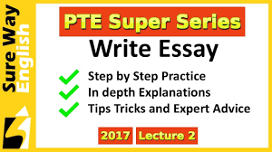 pte write essay practice tips and expert advice pte super series pte write essay practice tips and expert advice pte super series 2