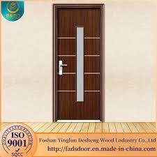 china wood frame sliding glass door for philippines china wooden door mdf door