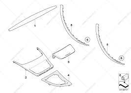 Interior moldings carbon for bmw 1' e88 135i n55 convertible usa