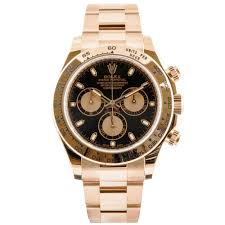pre owned unused rolex watches at berry s jewellers daytona cosmograph 18ct rose gold black dial men s oyster bracelet watch rolex pre owned
