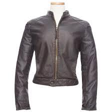 women s burk s bay retro leather jacket
