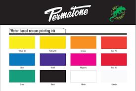 Ys Paint Color Chart Permatone Colour Chart Permaset