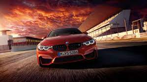 Bmw M4 Front View Red 2k — Wallpaper ...